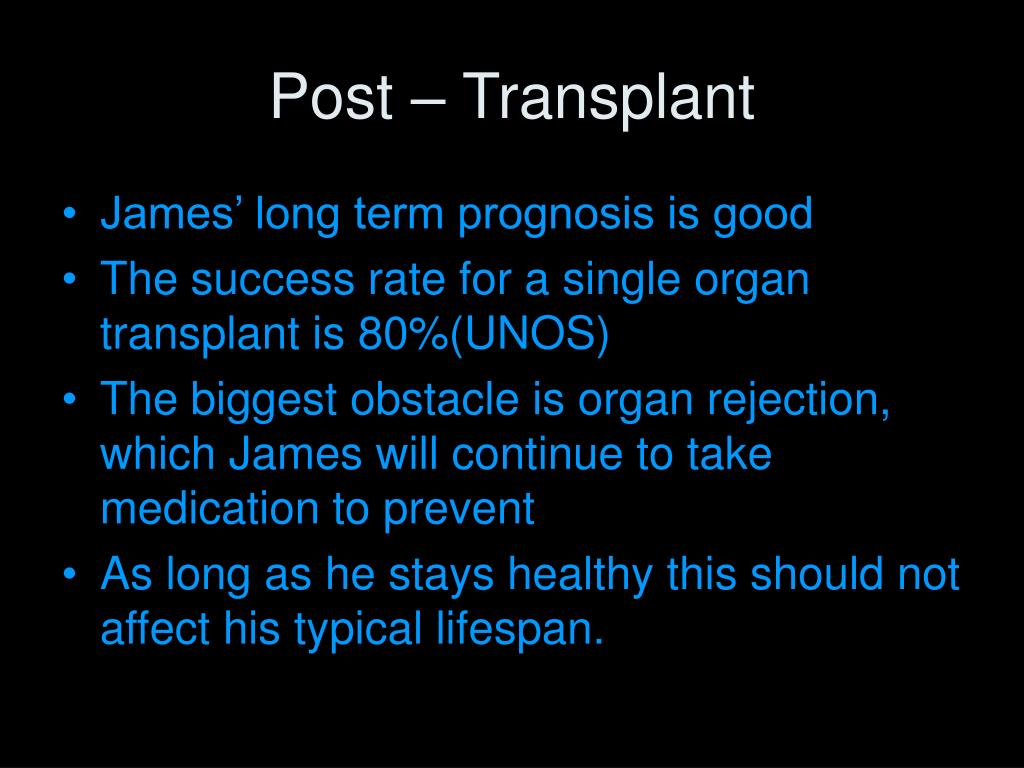 Post – Transplant
