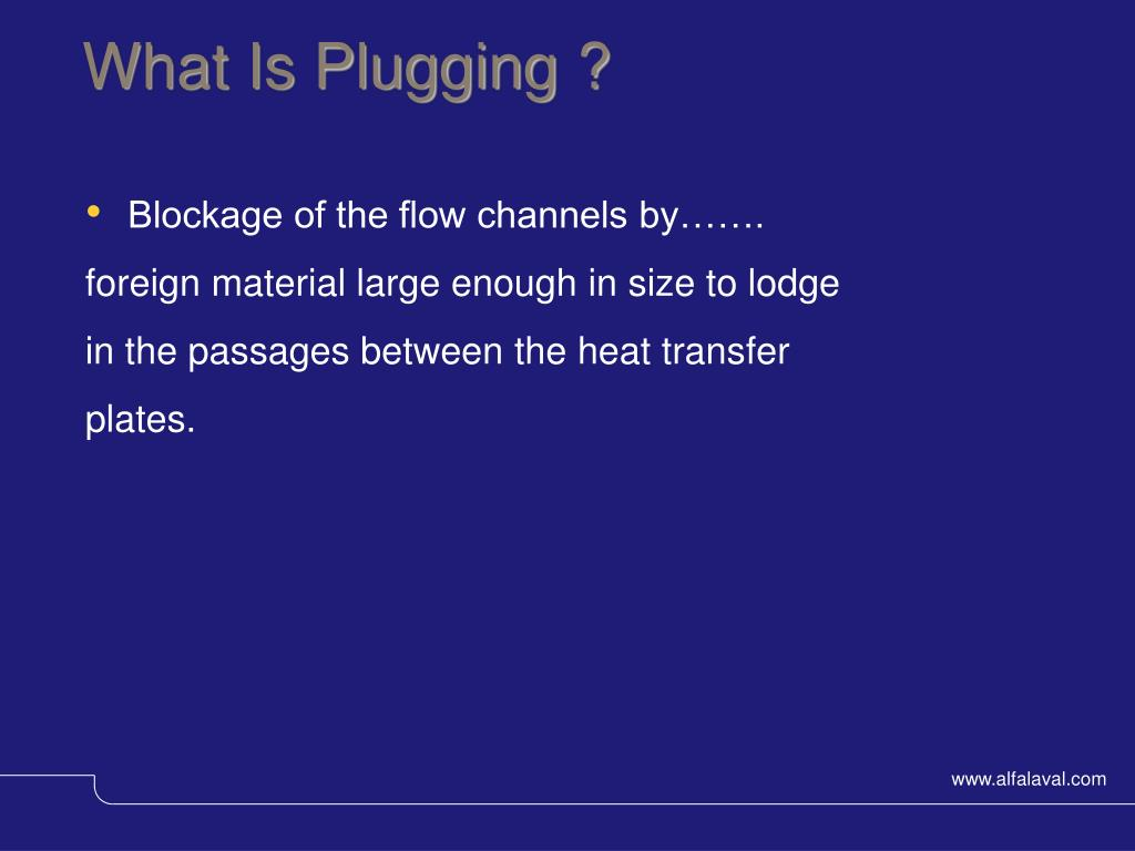 What Is Plugging ?