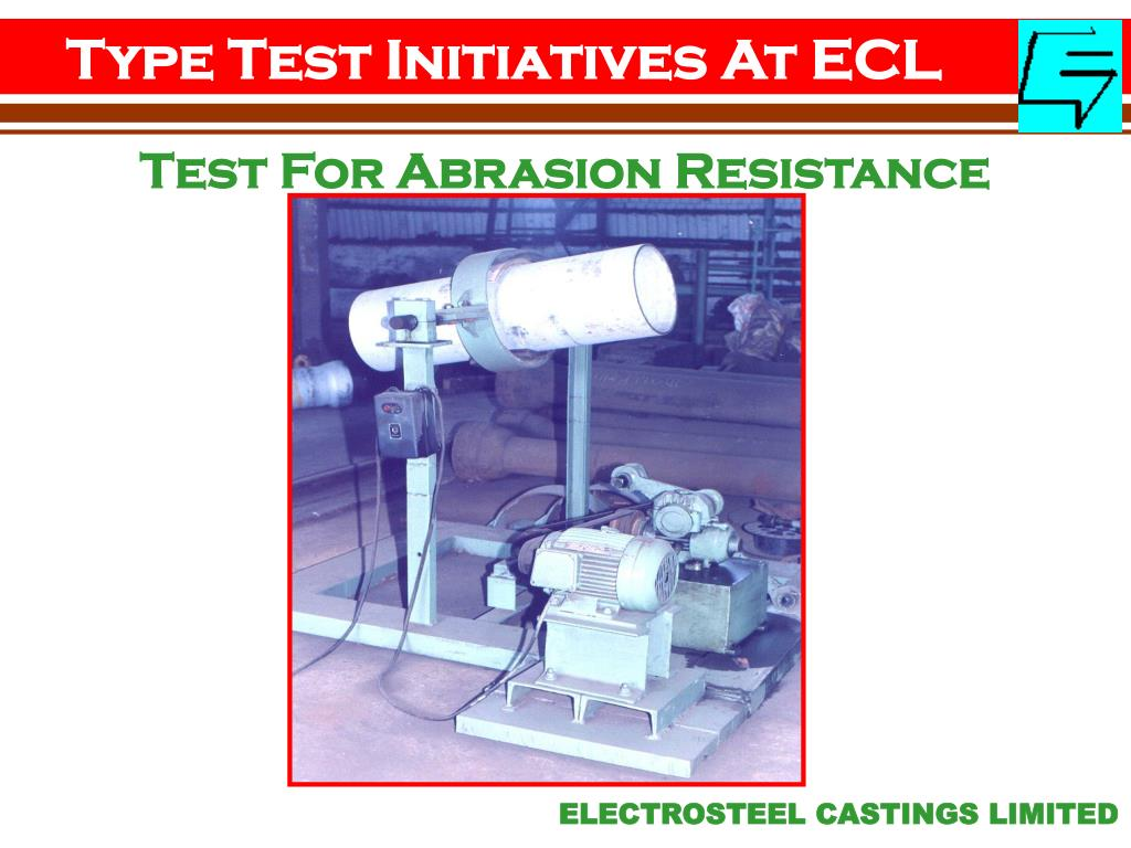 Type Test Initiatives At ECL
