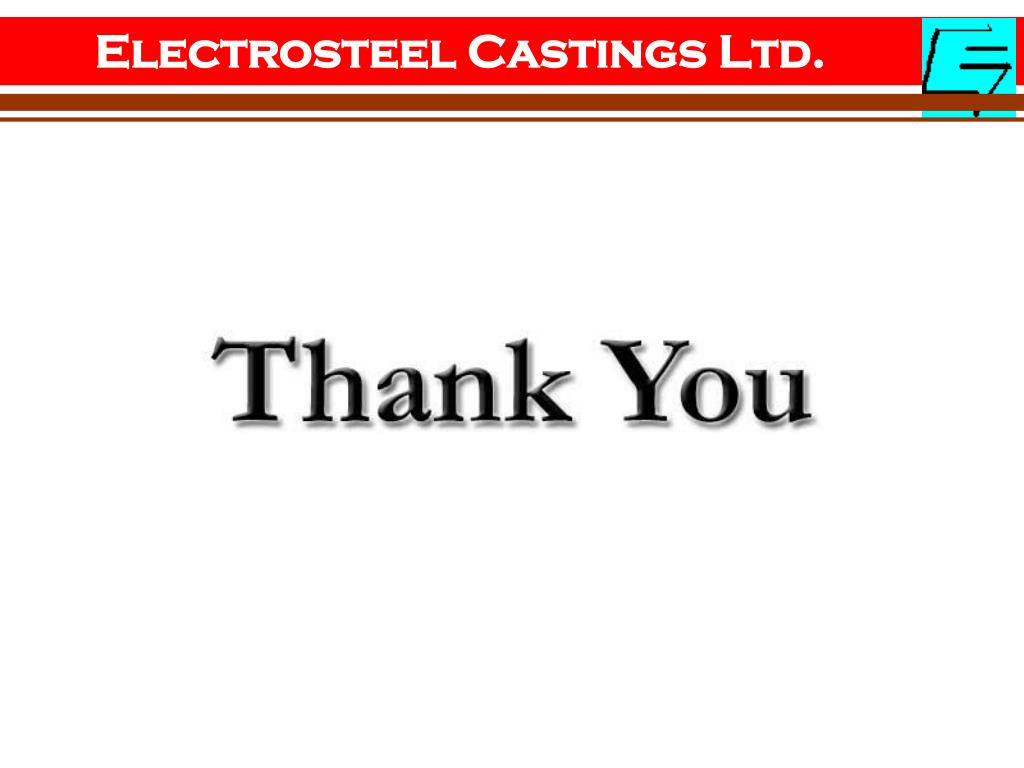 Electrosteel Castings Ltd.