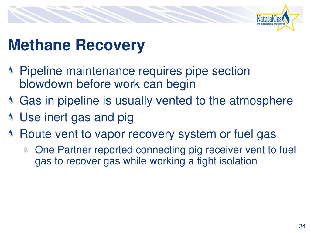 Methane Recovery