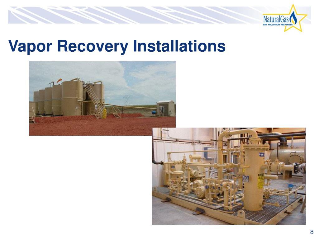 Vapor Recovery Installations