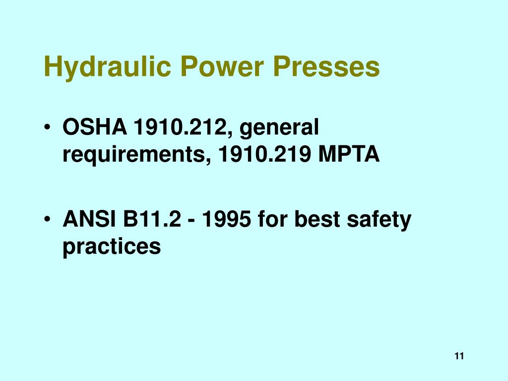 Hydraulic Power Presses