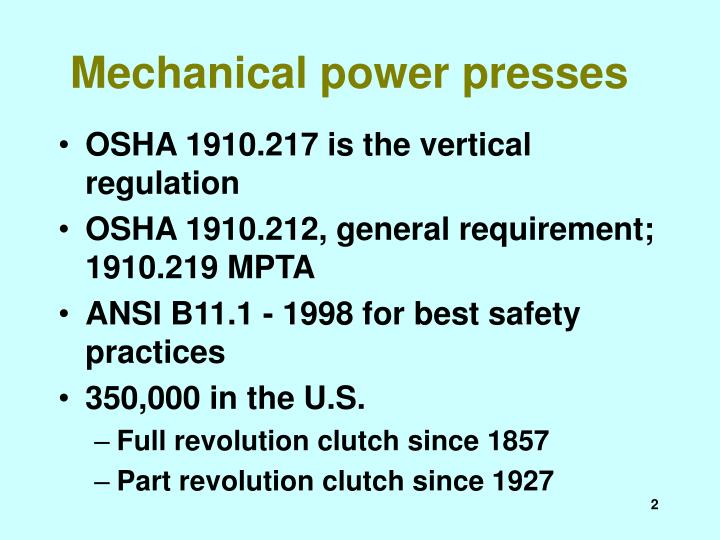 Mechanical power presses2 l.jpg