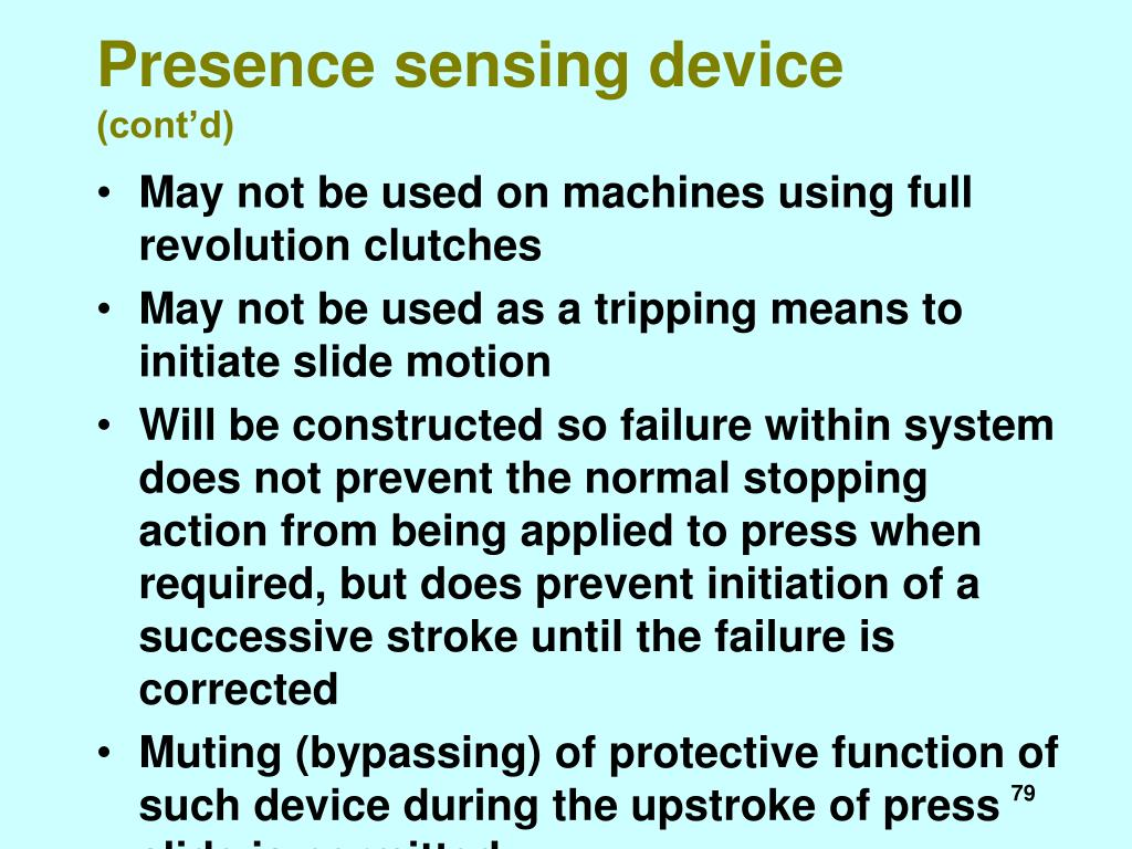 Presence sensing device