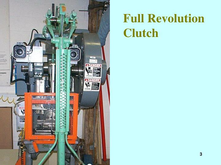 Full Revolution Clutch