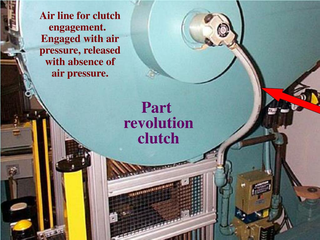 Air line for clutch