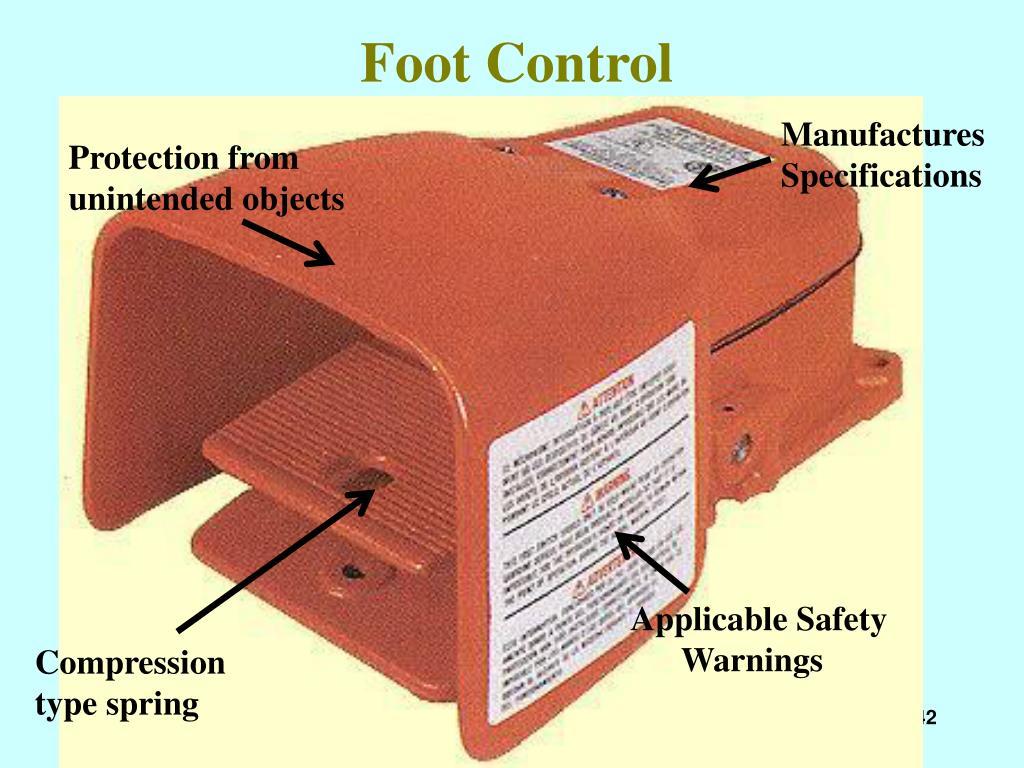 Foot Control