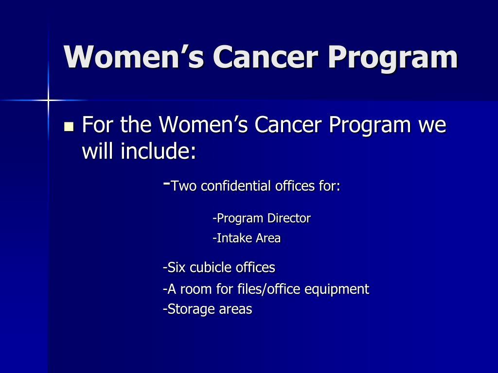 Women's Cancer Program