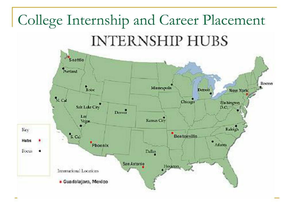 College Internship and Career Placement