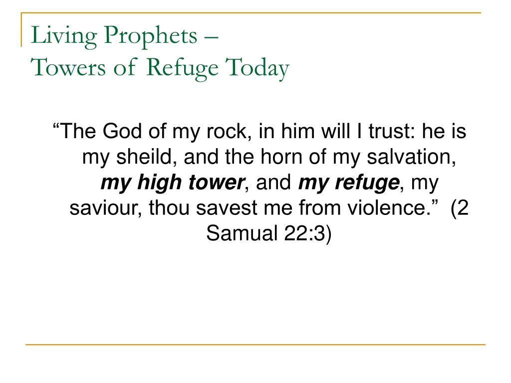 Living Prophets –