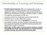 scholarship of learning and teaching28