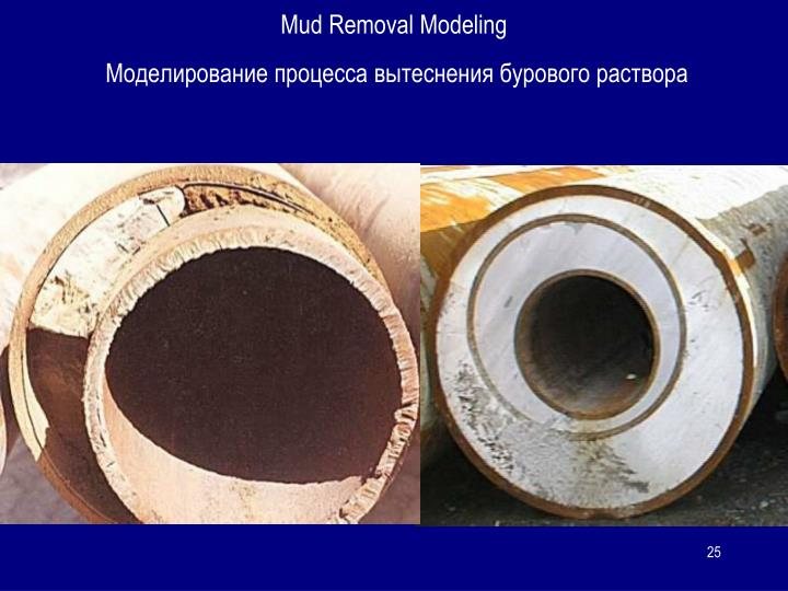 Mud Removal Modeling