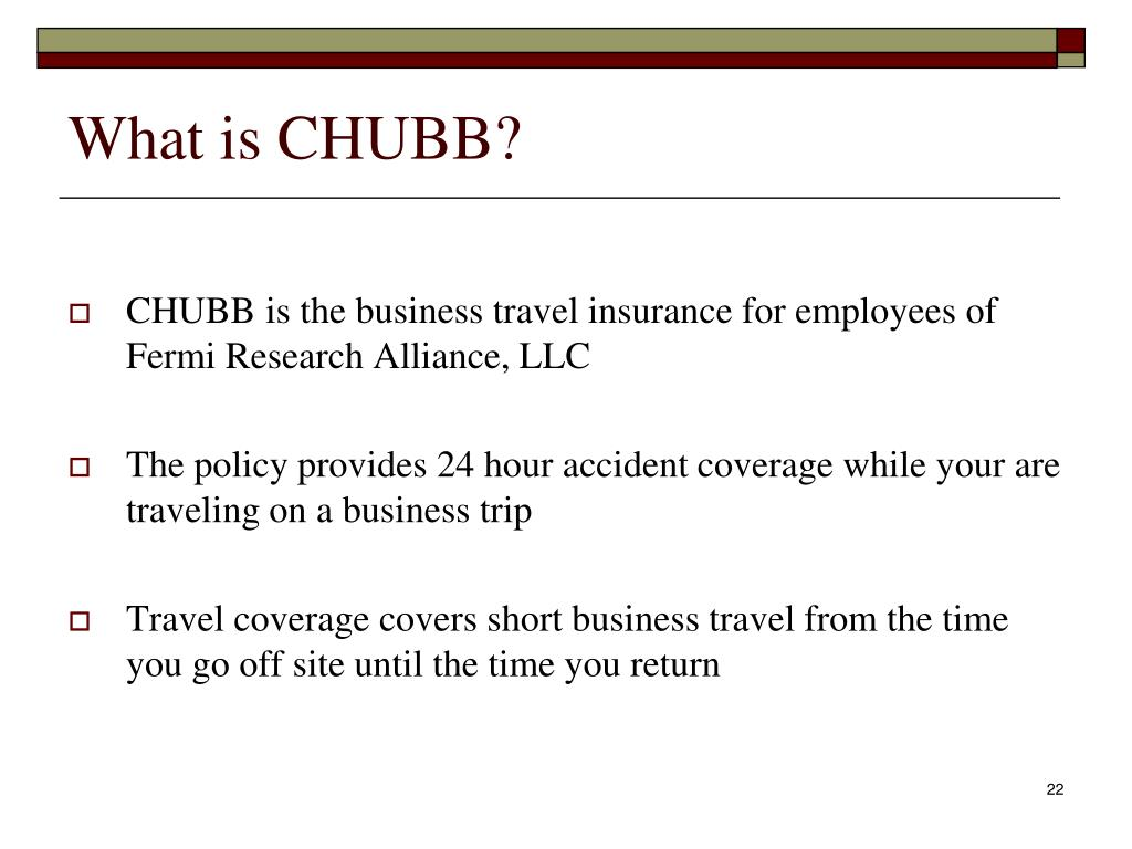 What is CHUBB?