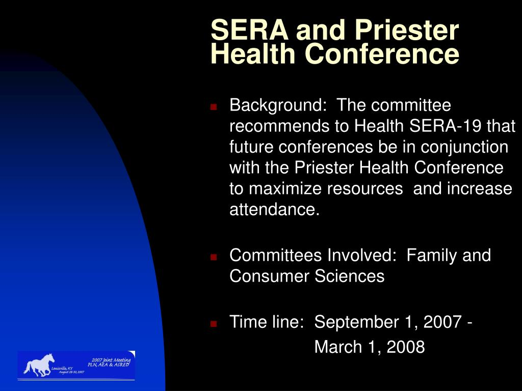 SERA and Priester Health Conference