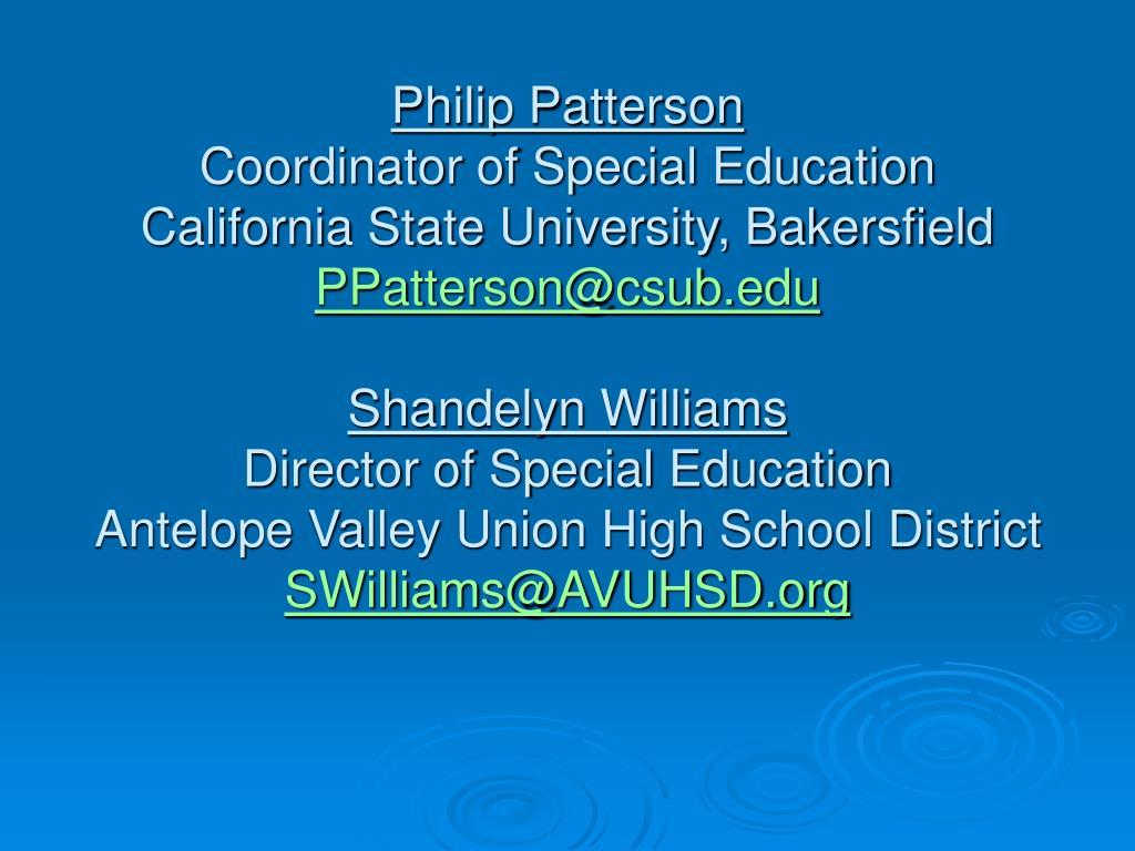 Philip Patterson