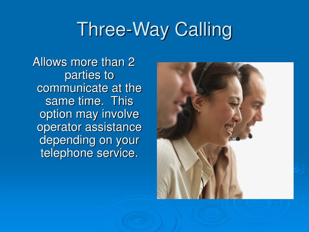 Three-Way Calling