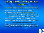 moving ahead creating value for members8