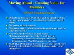 moving ahead creating value for members9