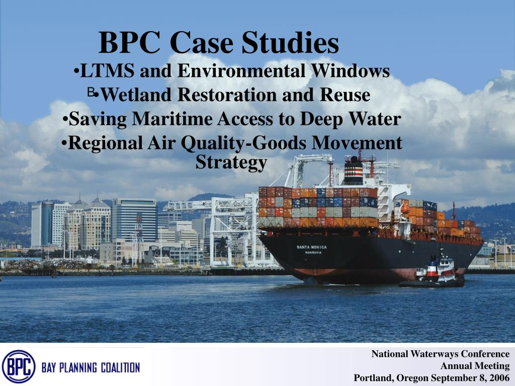 BPC Case Studies