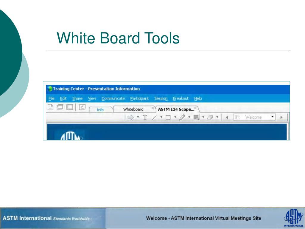White Board Tools