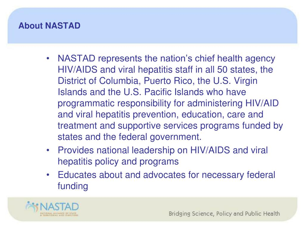 About NASTAD