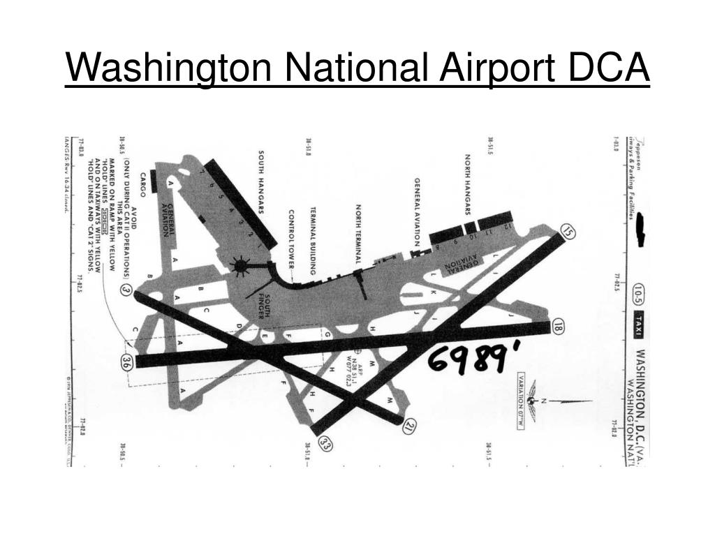 Washington National Airport DCA