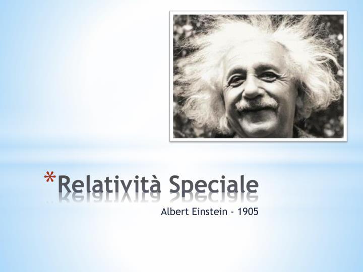 Albert Einstein - 1905