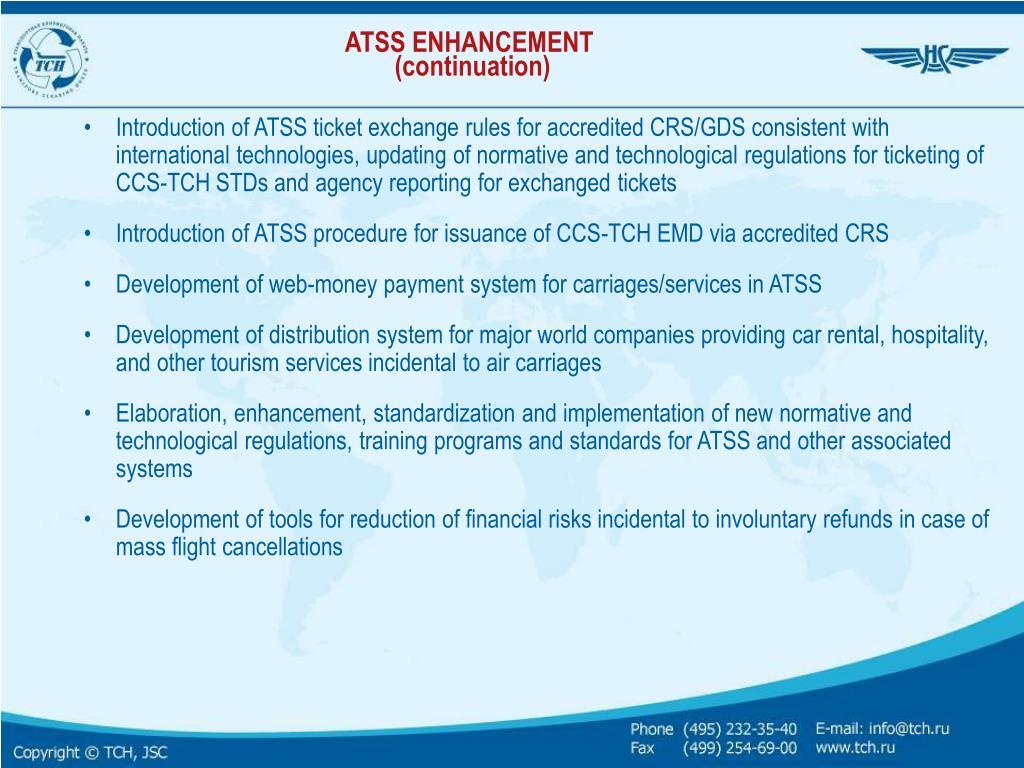 ATSS ENHANCEMENT