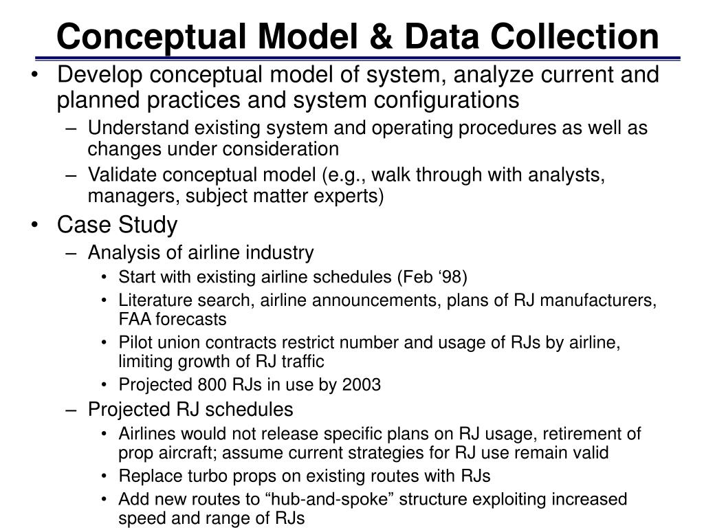 Conceptual Model & Data Collection