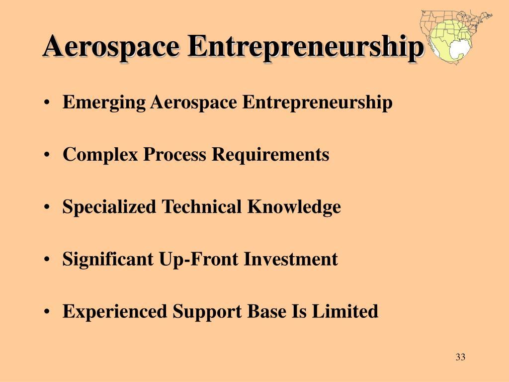 Aerospace Entrepreneurship