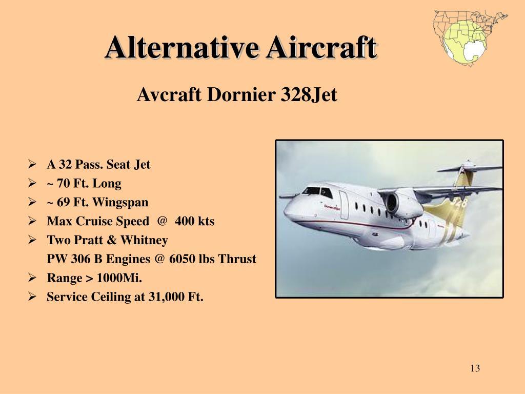 Alternative Aircraft