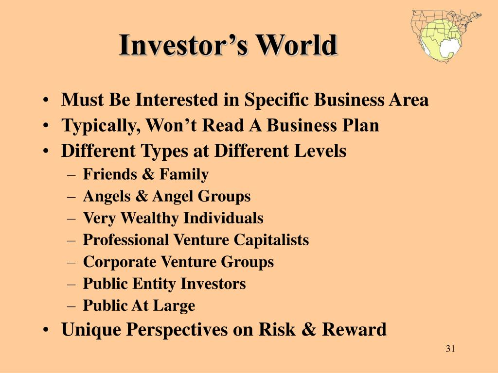 Investor's World