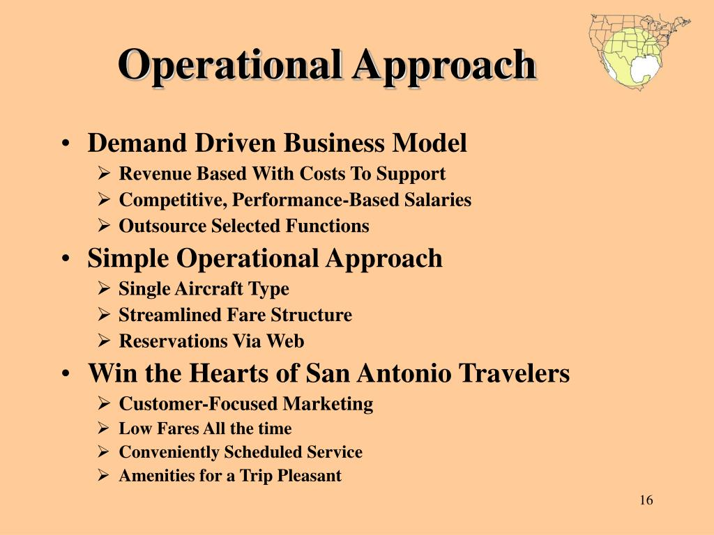 Operational Approach
