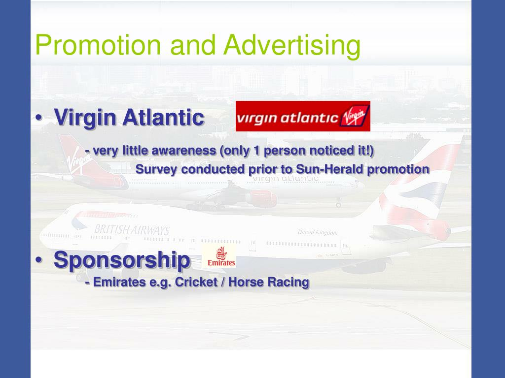 Promotion and Advertising