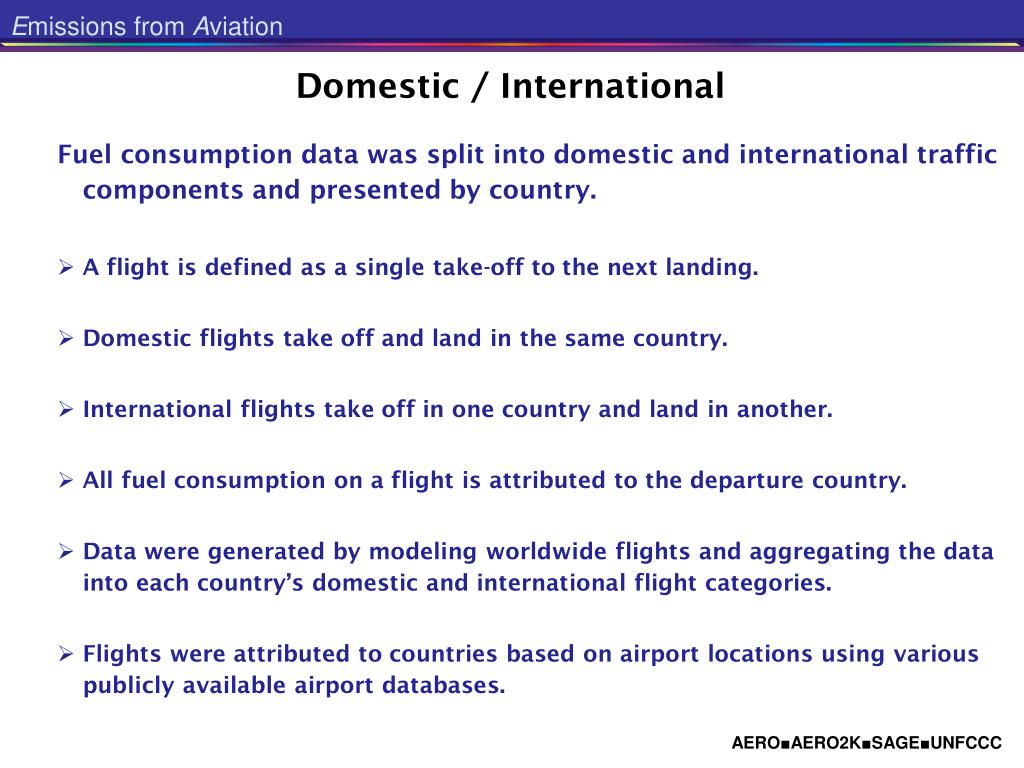 Domestic / International