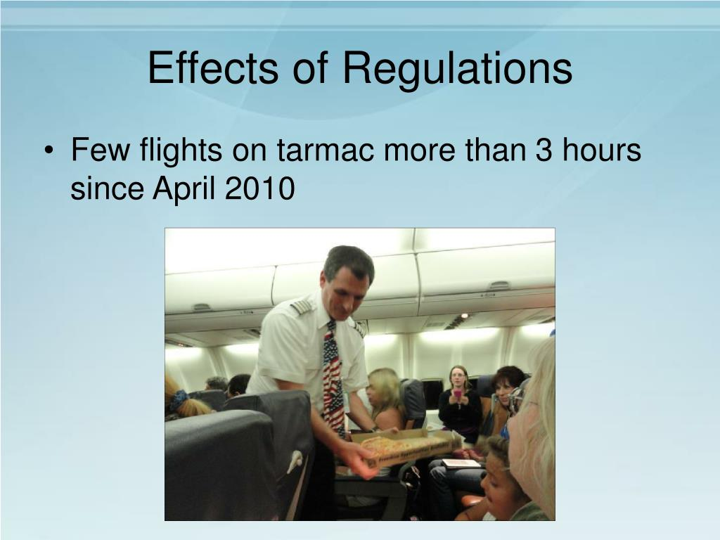 Effects of Regulations