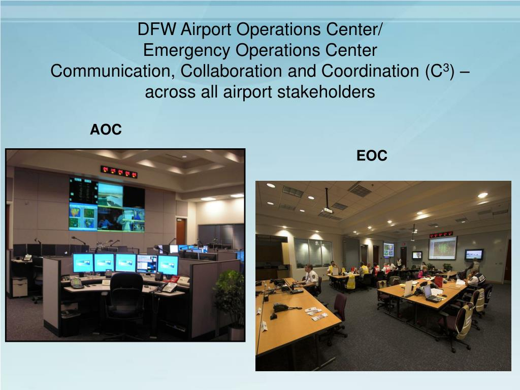DFW Airport Operations Center/