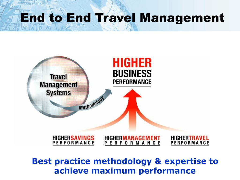 End to End Travel Management