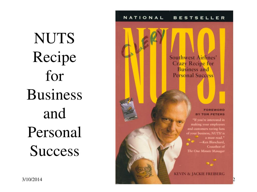 NUTS Recipe for Business and Personal Success