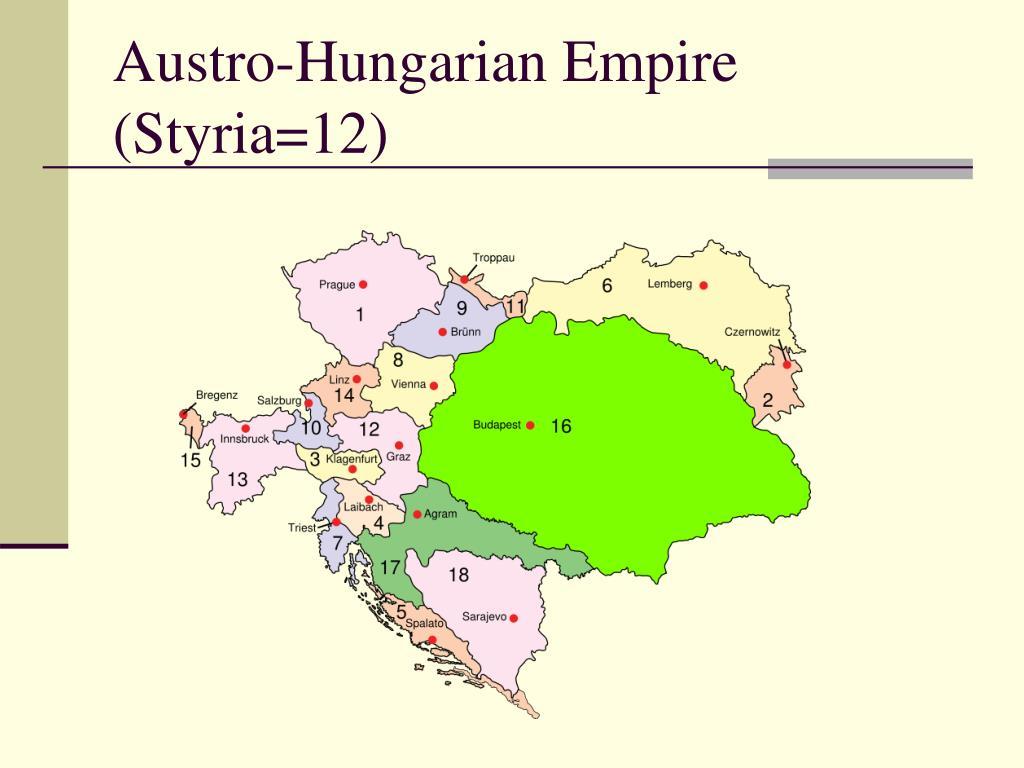 Austro-Hungarian Empire (Styria=12)