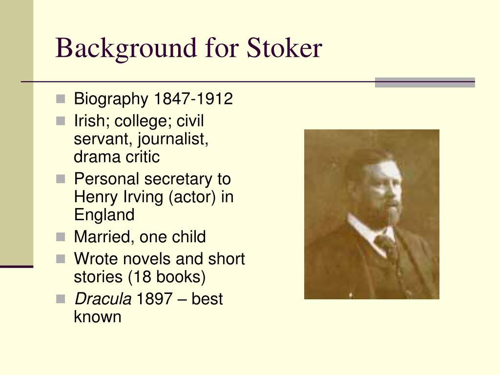 Background for Stoker