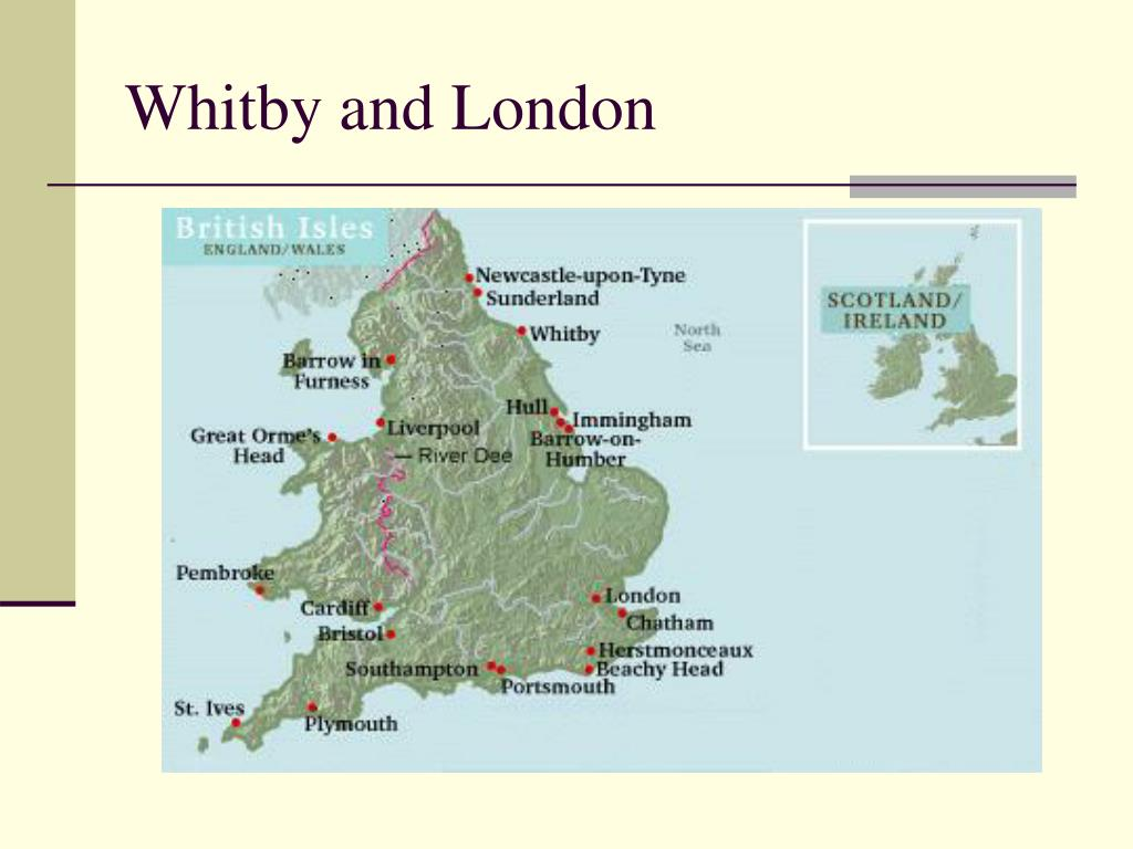 Whitby and London