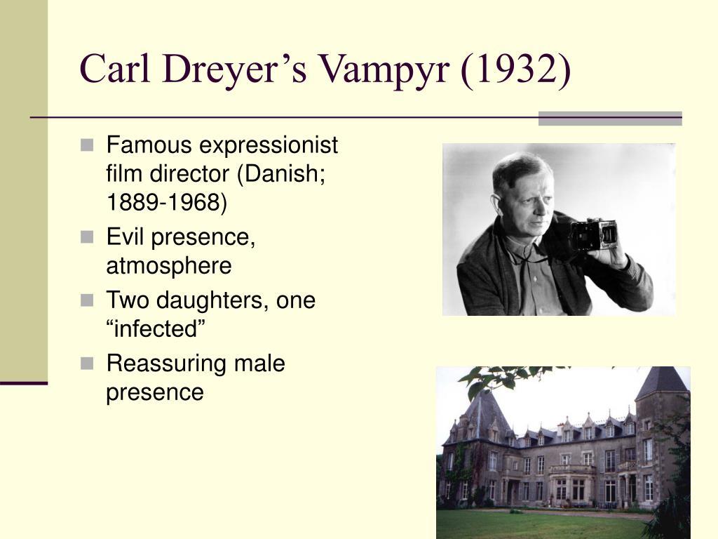 Carl Dreyer's Vampyr (1932)