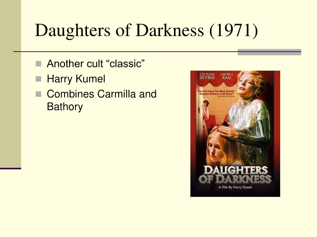 Daughters of Darkness (1971)
