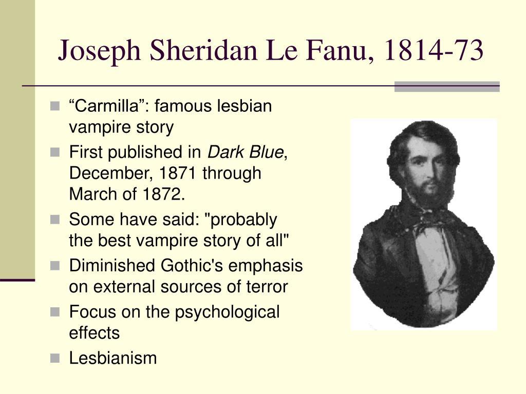 """Carmilla"": famous lesbian vampire story"