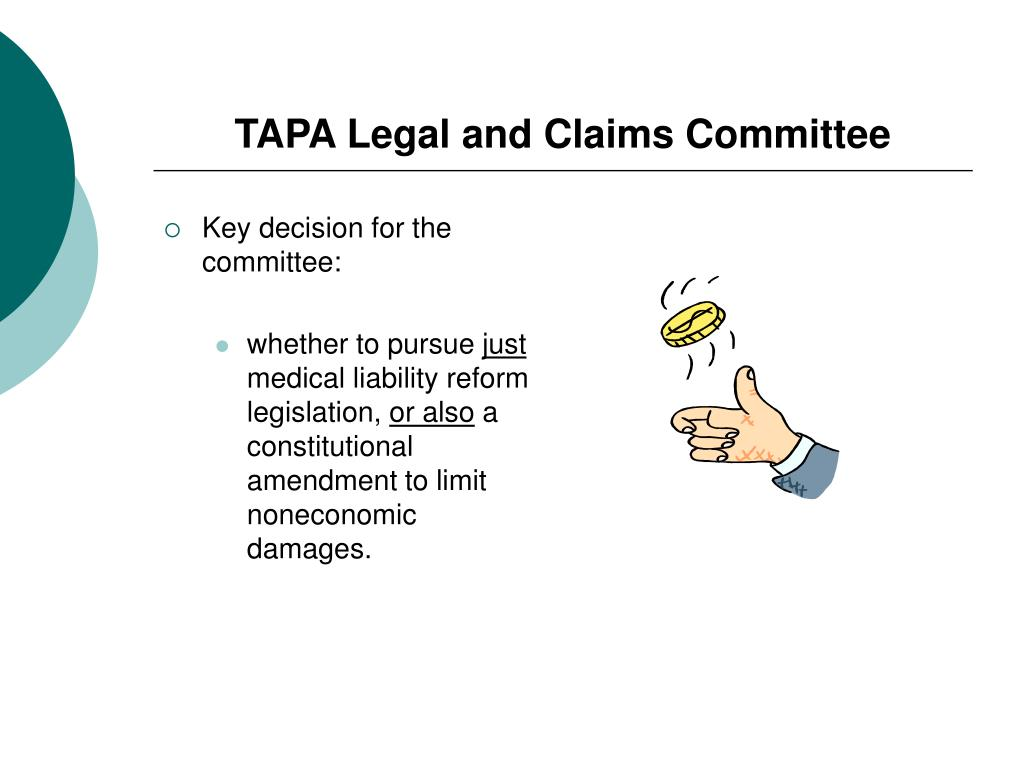 TAPA Legal and Claims Committee