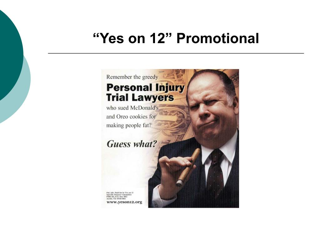 """Yes on 12"" Promotional"