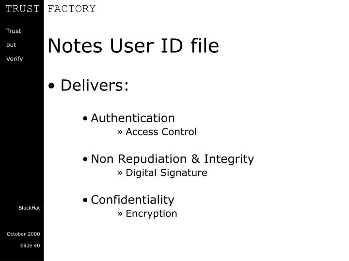 Notes User ID file