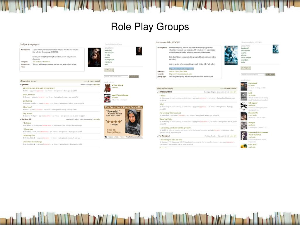 Role Play Groups